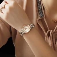 宝时捷女士机械表时尚潮流钢带防水带日历商务保时捷手表6602L