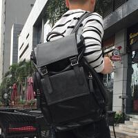 原创潮牌旅行背包潮流青年韩版户外休闲登山包大容量电脑双肩包男