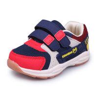 机能鞋男童1-2-3岁女童4软底宝宝学步鞋加绒5小童鞋秋季6儿童鞋子