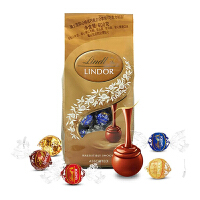 【中粮我买】瑞士莲软心精选巧克力分享装600g(瑞士进口 袋)