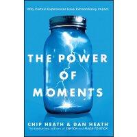 【现货】英文原版 The Power of Moments 瞬间的力量 Chip Heath, Dan Heath 瞬