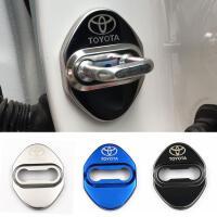 卡罗拉新RAV4汉兰达威驰雷凌凯美瑞门锁扣装饰车内用品 改装配件