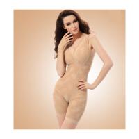 带文胸夏季内衣衣塑身衣束身衣薄款收腹收腰连体塑身衣