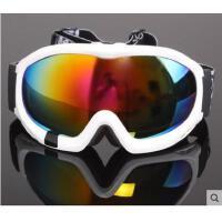 高清防护眼镜大框双层防雾大视野男女户外登山滑雪眼镜可卡近视专业滑雪镜