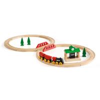 [当当自营]BRIO 经典八字轨道套装 儿童益智拼插木制轨道小火车玩具 BR33028