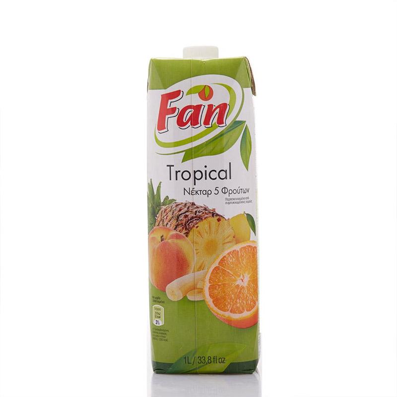 【中粮海外直采】Fan纯果芬复合果汁饮料1L(塞浦路斯进口 盒)