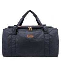 超大号特大容量男包旅行包手提托运包行李包袋搬家包大包装衣服包 黑色 帆布涂层防水工艺