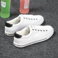 帆布鞋男韩版低帮休闲鞋板鞋黑侣运动学生男鞋潮