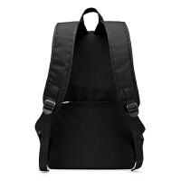 新款黑色经典双肩包女男休闲旅行双肩背包大容量高中初中学生书包