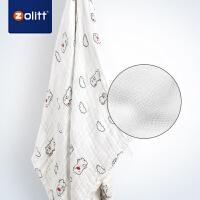 Zolitt 卓理 婴儿盖被纯棉秋冬加厚纱布毯子宝宝浴巾毛巾被儿童加厚盖毯