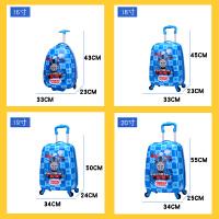 儿童拉杆箱密码旅行箱公主可爱卡通行李箱男孩旅游皮箱小手拉箱