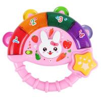 儿童早教多功能音乐手摇铃婴儿安抚玩具6-12个月宝宝掌柜