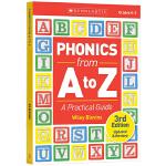 自然拼读法使用指南 从A到Z 英文原版 Phonics from A to Z Practical Guide 学乐儿