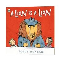 狮子就是狮子 英文原版 A Lion Is a Lion 英文版儿童英语启蒙绘本 亲子共读认知早教睡前故事图画书 进口原