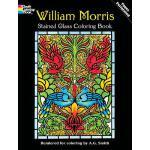 【预订】William Morris Stained Glass Coloring Book