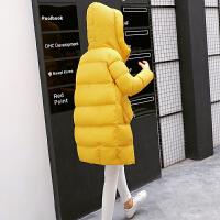 棉衣女中长款韩版2018新款棉袄冬装加厚保暖羽绒外套