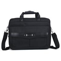 男士公文包手提包大容量牛津布商务包多层横款出差业务15寸电脑包