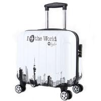 儿童行李箱18寸可爱拉杆箱女韩版16寸小清新旅行箱17寸卡通箱