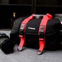 佳能相机包单反 70d 6d 80d 60d 700d 750d 5D3 单肩斜挎摄影包