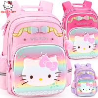 hellokitty��包小�W生1-3-4年�女童�和��p肩背包5幼��@女孩�p�