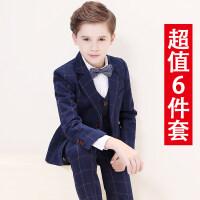儿童西装套装男童西服花童礼服小男孩宝宝钢琴演出三件套韩版春秋