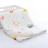 婴儿浴巾纱布被子新生儿洗澡超柔吸水儿童宝宝浴巾初生秋冬厚款