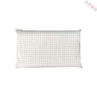 日式纯棉水洗棉儿童乳胶枕套30x50乳胶枕橡胶记忆枕枕套