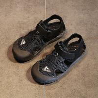 童鞋男童新款韩版夏季儿童沙滩鞋宝宝小孩鞋子中大童包头凉鞋