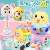 新生婴儿摇铃玩具3-6-9-12个月7小孩可咬软胶益智女宝宝0-1岁男孩