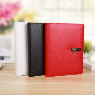 国俊A5创意文具笔记本带充电宝移动电源活页记事本商务礼品