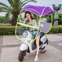 电动车遮阳伞 电动车雨蓬 电动车雨衣 电瓶车防雨棚 电瓶车防晒