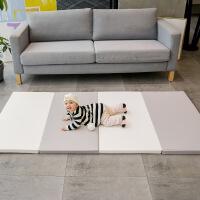 爬行垫折叠加厚4cm婴儿童xpe家用客厅地垫环保无味pu宝宝爬爬垫子