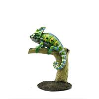 动物模型 仿真玩具 野生爬行动物 蜥蜴鳄鱼龟蛇 高冠变色龙 高冠变色龙
