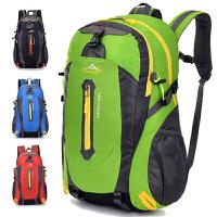 户外登山包大容量旅游旅行背包男女双肩包高中学生书包潮