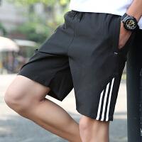 运动短裤男跑步健身速干休闲五分裤夏天薄款训练裤6分宽松中裤潮K516