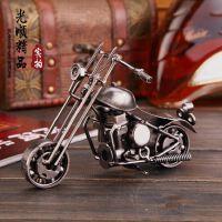 【升级版】铁艺摩托车 手工纯金属摩托车模型摆件 家居创意礼品