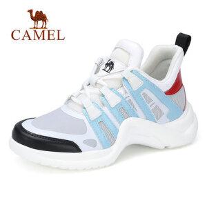 Camel/骆驼2018春新款ins超火的鞋子老爹女鞋韩版ulzzang原宿百搭运动鞋