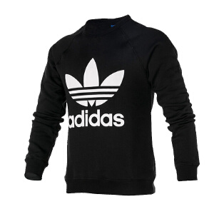 Adidas阿迪达斯 2017新款男子三叶草运动休闲卫衣套头衫 AY7791