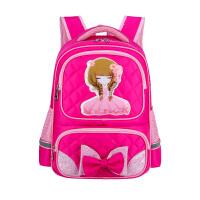 女童书包小学生女1-3-46年级儿童书包女孩6-12周岁韩版减负双肩包