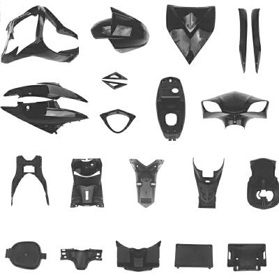 摩托车电瓶电动车雷霆王全套外壳配件烤漆件大盛火箭踏板车塑料件SN9151