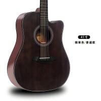 ?单板电箱民谣木吉他41寸40寸男入门练习吉它乐器吉他初学者学生女?