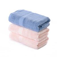 毛巾加厚基部纯棉家用柔软吸水男女洗脸洁面巾竹炭纤维套装