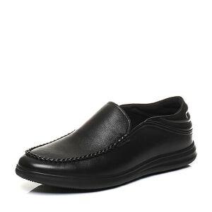 Belle/百丽2017秋季新品专柜同款牛皮套脚懒人鞋男休闲鞋4ZL02CM7