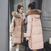 2018新款羽绒女中长款时尚韩版冬季加厚ins潮外套棉袄