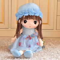 可爱花仙子菲儿布娃娃毛绒玩具儿童玩偶女生公仔公主抱睡生日礼物