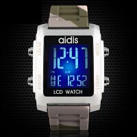 LED手表电子表 防水运动果冻表创意男士女手表学生男表