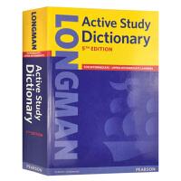 培生朗文英语学习词典 英文原版 Longman Active Study Dictionary 5E 英英字典辞典 英