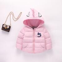 儿童羽绒冬装外套 宝宝中小童棉衣棉袄男童女童