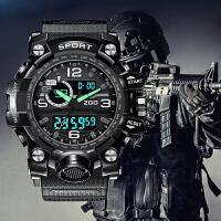 男士手表潮流运动学生多功能特种兵战术防水电子表