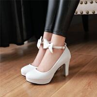 韩版女童皮鞋小女孩高跟鞋小主持公主鞋单鞋女舞蹈鞋女童鞋礼服鞋SN3040 31 脚长20.5cm